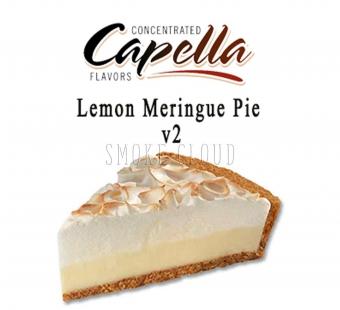 "Ароматизатор Capella ""Lemon Meringue Pie v2 (Лимонный пирог с безе)"" 10мл."