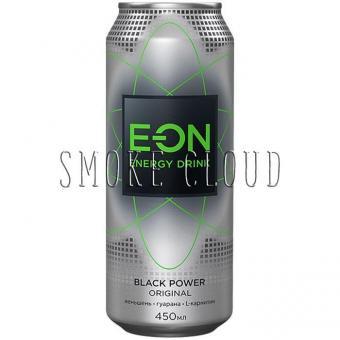 Напиток E-ON - BLACK POWER, напиток еон блэк павер, еон яблоко купить