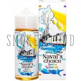 Жидкость Naval's Choice 120 мл. Rainbow Warrior, жидкость навал чойс рейнбоу вариор, купить жидкость фруктовый мармелад навал чойс, сладкая жидкость для вейпа