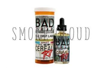 """Жидкость """"Bad drip"""". 60 мл. Cereal trip. 3 мг./мл."""