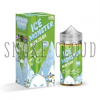 """Жидкость """"Ice Monster"""". 10 мл. Melon Colada, жидкость айс монстер мелон кулада, купить премиальную жидкость в розлив в чебоксарах недорого, недорогие премки купить, жидкость для вейпа с дыней и кокосом"""