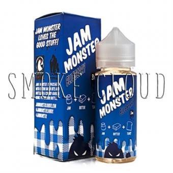 """Жидкость """"Jam Monster"""". 10 мл. Blueberry. 3 мг./мл."""