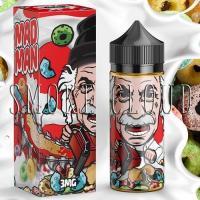 """Жидкость """"Mad Man"""". 10 мл. Juice Man, жидкость для вейпа фруктовые хлопья с молоком, прем в розлив недорого, жидкость мэд мэн джус мэн купить, заказать премиальную жидкость недорого с доставкой по россии"""
