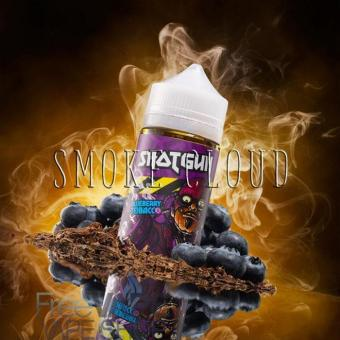 Жидкость Shotgun 80 мл. Blueberry Tobacco, жидкость шотган блуберри тобакко, купить жидкость для вейпа табачка