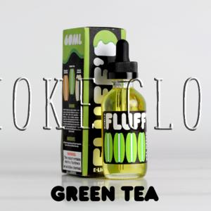 """Жидкость """"Fluff'd"""". 10 мл. Green Tea, жидкость флаффди грин ти, жидкость зеленый чай купить недорого, недорогие премиальные жидкости в розлив купить чебоксары"""
