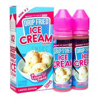 """Жидкость """"Drip Fried"""". 10 мл. Ice Cream, жидкость дрип фрид айс крим, жидкость для вейпа мороженое, премиальная жидкость для вейпа купить недорого с доставкой по россии"""