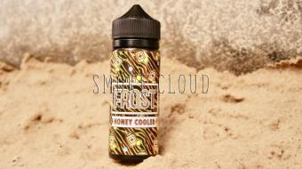Жидкость Frost 120 мл. Honey cooler, жидкость холлс, жидкость с медом, жидкость с лимоном и холодком, фрост хани кулер купить