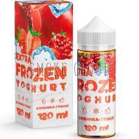 Жидкость Extra Frozen Yoghurt 120 мл. Клубника-Гранат 3
