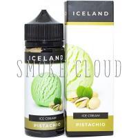 Жидкость Iceland 120 мл. Pistachio, мороженое с фисташками, жидкость айсленд пистахио, жидкость для вейпа с фисташками купить с доставкой недорого