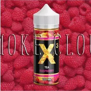 Жидкость X-3 Tea 120 мл. Raspberry, жидкость для вейпа, электронные сигареты, жидкость с никотином, купить, купить жидкость с доставкой, купить жидкость в чебоксарах, жидкость чай, чай с малиной, жидкость с малиной