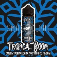 Жидкость Freeze Breeze 120 мл. Tropical Boom, жидкость фризи бризи, холодная жидкость с фруктами, жидкость для вейпа фруктовый микс