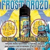 Жидкость Frost Drozd 120 мл. Ананас, Маракуйя, Кокос, жидкость с маракуйей и кокосом, купить жидкость в чебоксарах, жидкость фрост дрозд, сладкая жижка для вейпа