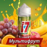 Жидкость I-7 100 мл. Мультифрукт, жидкость мультифрукт, мультифруктовый сок жидкость для вейпа, купить мультифруктовый сок, жидкость i7 купить, купить жидкость в чебоксарах