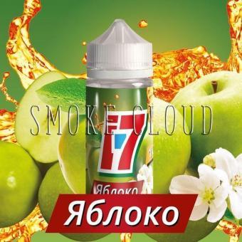 Жидкость I-7 100 мл. Яблоко, жидкость с яблоком, яблочный сок жидкость, жидкость для вейпа с яблоком, купить жидкость i7