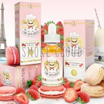 "Жидкость ""Mr.Macaron"". 10 мл. Strawberry Cream"