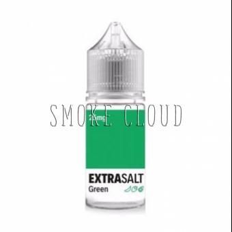Жидкость EXTRA SALT 30 мл. GREEN, жидкость экстра солт грин, жидкость на солевом