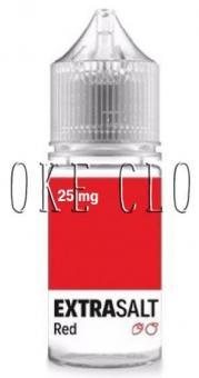 Жидкость EXTRA SALT 30 мл. RED, жидкость экстра солт ред, жидкость на солевом с клубникой и малиной