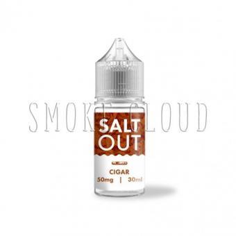 Жидкость SALT OUT 30 мл. CIGAR