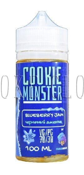 Жидкость Cookie Monster 100 мл. Blueberry Jam 3