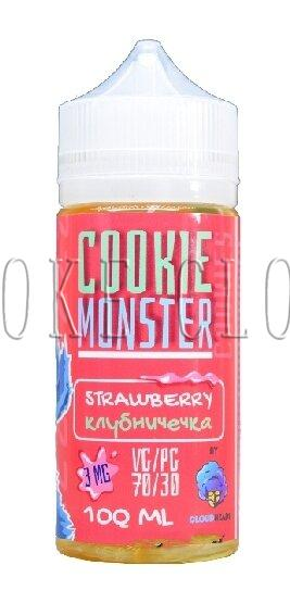 Жидкость Cookie Monster 100 мл. Strawberry 3