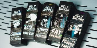 Жидкость Ugly Brthrs 100 мл. Fat Cops Brain 3