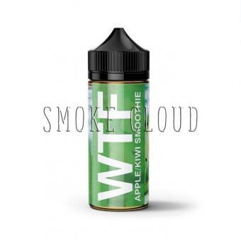 Жидкость WTF 100 мл. Apple Kiwi Smoothie 3,  жидкость wtf, купить жидкость wtf, жидкость wtf отзывы, жидкость wtf обзор, жидкость wtf вкусы, жидкость wtf, vape жидкости, vape жидкости купить, жидкость vape отзывы, обзор жидкости vape