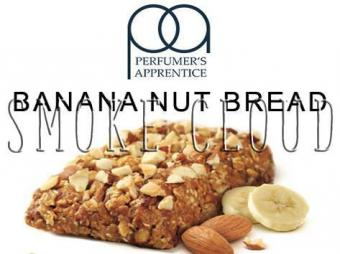 "Ароматизатор ТРА ""Banana Nut Bread (Банановый кекс с орехами)"" 10мл., tpa ароматизаторы официальный, вейп, пар, vape, аромки, ароматизаторы"