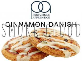 """Ароматизатор ТРА """"Cinnamon Danish (Датская булочка с корицей)"""" 10мл., сигарета для вейпинга"""