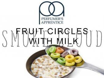 """Ароматизатор ТРА """"Fruit Circles With Milk (Фруктовые колечки с молоком)"""" 10мл., пропорции самозамеса жидкости для электронных сигарет"""