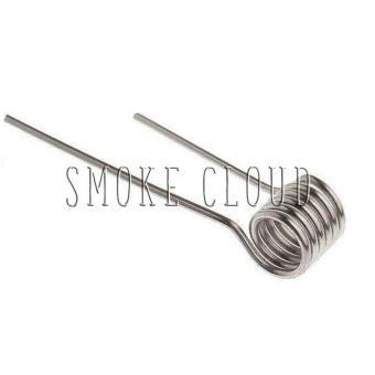 Спираль MICRO COIL 2 шт. (SS 316 0.4мм), микро койл, койлы купить, койлы в чебоксарах, намотка для атомайзера