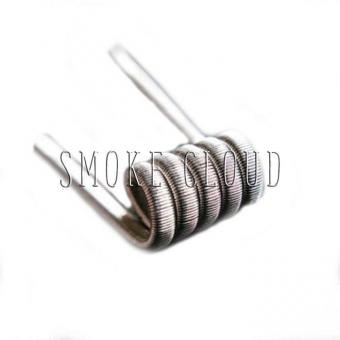 Спираль TRIPLE FUSED CLAPTON COIL 2 шт. (NiCr 3x0.34мм+Kantal 0.18мм), трипл фьюзд койл, триплы, койлы триплы, как намотать триплы