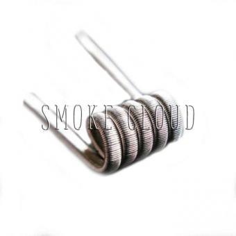 Спираль TRIPLE FUSED CLAPTON COIL 2 шт. (SS 3x0.4мм+Kantal 0.12мм), трипл фьюзд койл, триплы, койлы триплы, как намотать триплы