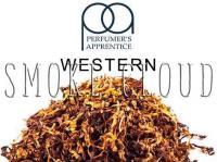 "Ароматизатор ТРА ""Western (Западный табак)"" 10мл, ароматизаторы тпа табачка, ароматизатор с табачным вкусом купить, аромки tpa оптом"