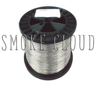 Kanthal проволока для намотки спиралей диаметр 0,4 мм., 10 м.
