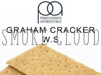 """Ароматизатор ТРА """"Graham Cracker W.S. (Грэхам крекер)"""" 10мл., самозамес жидкости для электронных сигарет рецепты пропорции"""