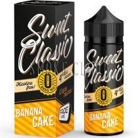 Жидкость Sweet classic 120 мл. Banana cake 0
