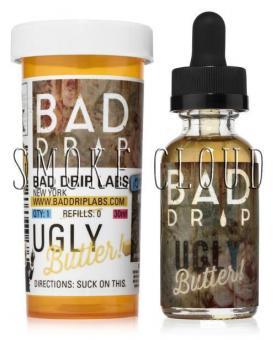 Жидкость Bad Drip 60 мл. Ugly Butter 3%, бэд дрип агли баттер, жидкость выпечка, сладкая жидкость, премиальная жидкость