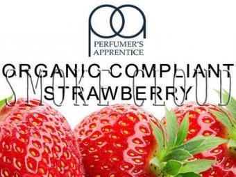 """Ароматизатор ТРА """"Organic Compliant Strawberry (Органическая клубника)"""" 10мл., ароматизаторы для электронных сигарет, самозамес"""