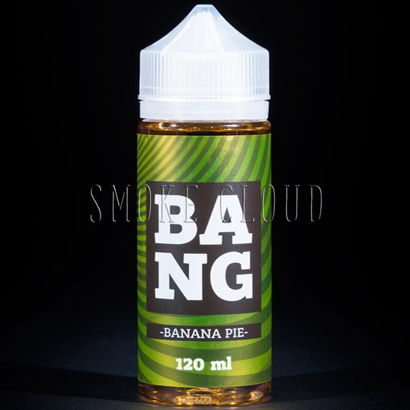Жидкость BANG 120 мл. Banana Pie 3
