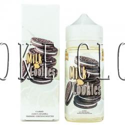 """Жидкость """"Electric Lotus"""" 10 мл. Milk&Cookies, купить премиальную жидкость электрик лотус милк кукис, сладкая жидкость печенье с молоком купить в розлив, недорогая премиальная жидкость"""
