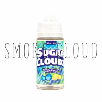"""Жидкость """"Sugar Cloudz"""" 10 мл. Blue Raspberry Lemonade, жидкость шуга клаудз купить, купить премиальную жидкость шуга клаудз, жидкость в розлив"""