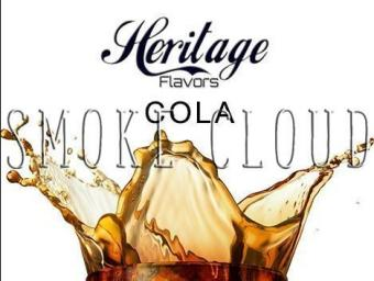 """Ароматизатор Heritage """"Cola (Кола)"""" 10 мл., vape, vapor, вейп, пар, электронные сигареты, жидкость для вейпа, ароматизаторы"""