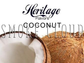 """Ароматизатор Heritage """"Coconut (Кокос)"""" 10 мл., vape, вейп, пар, электронные сигареты, ароматизаторы, жидкость для вейпа"""