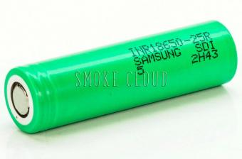 Аккумуляторы Samsung 25R 2500 mAh 20A 18650 (10 штук)